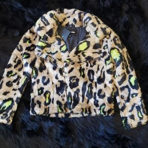 Fashion Jackets & Coats - 💚Cyber Leopard🖤